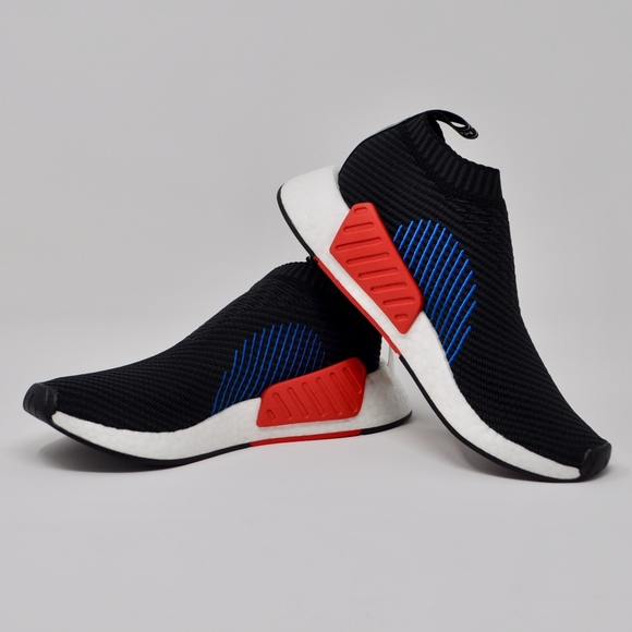 c8785480bf5ed Adidas Originals NMD CS2 Primeknit Slip-On Black